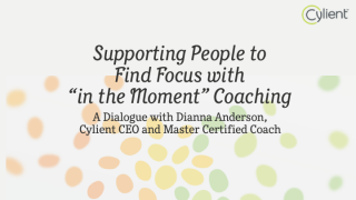 Supporting People to Find Focus